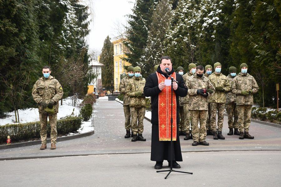 У Львові вшанували пам'ять загиблого Героя Богдана Слободи